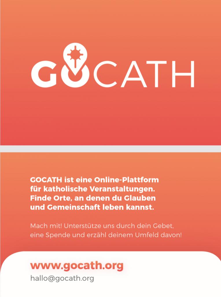 Werbematerial Gocath
