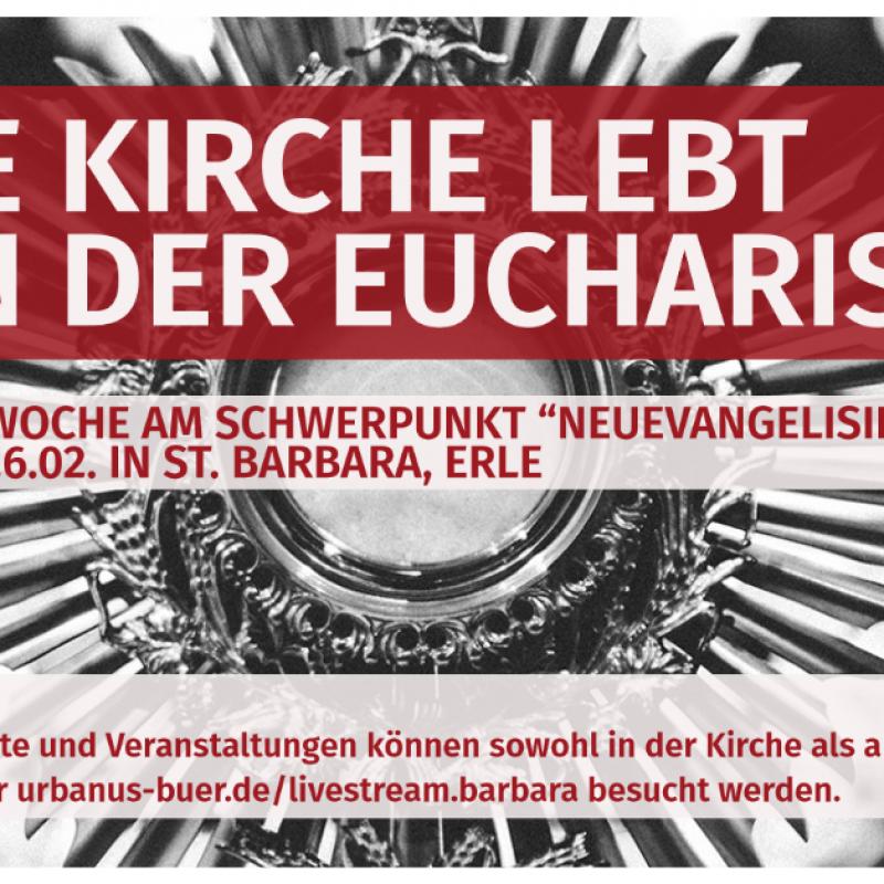 Kirche lebt Vortrag Hl Messe Exerzitienwoche