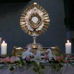 eucharistie Anbetung Monstranz
